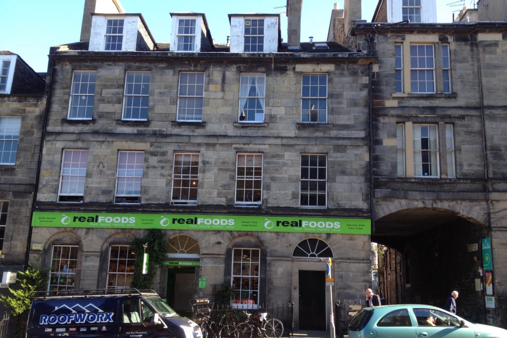 How to recycle anything and everything in Edinburgh Real Foods Broughton Street