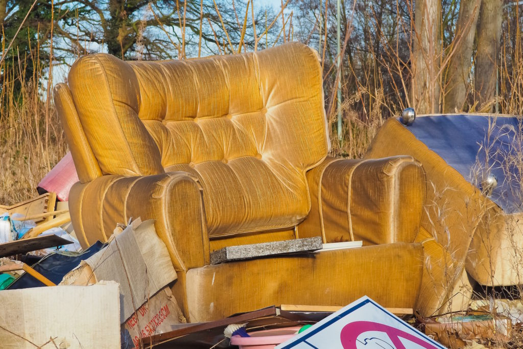 How to recycle anything and everything in Edinburgh broken furniture