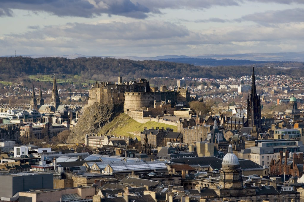 How to recycle anything and everything in Edinburgh castle