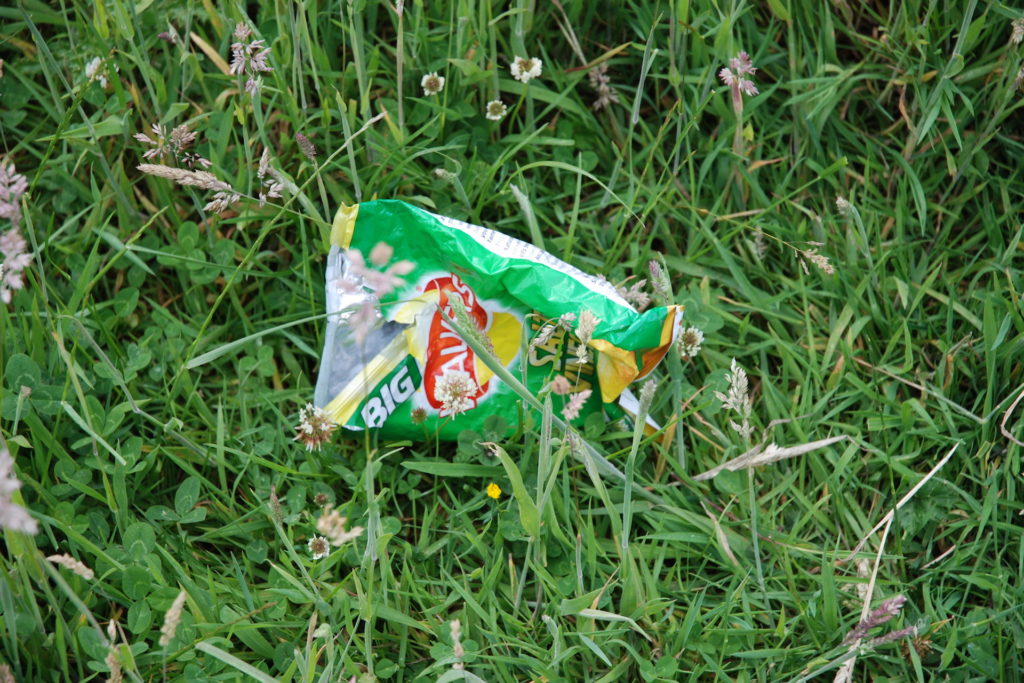 How to recycle anything and everything in Edinburgh crisp packets