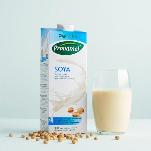 apple flavoured soya milk