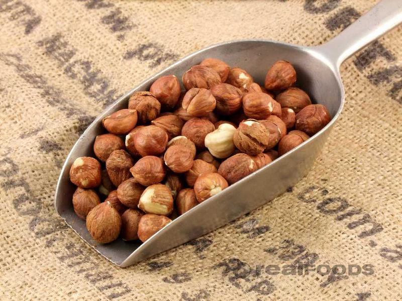 hazelnuts make a milk with a distinctive nutty flavour
