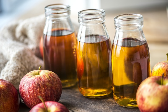 enjoy a glass of apple juice while you are enjoying the festival