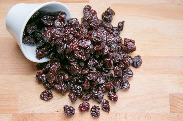 dried fruit can be eaten for a quick energy boast when you are enjoying the festival