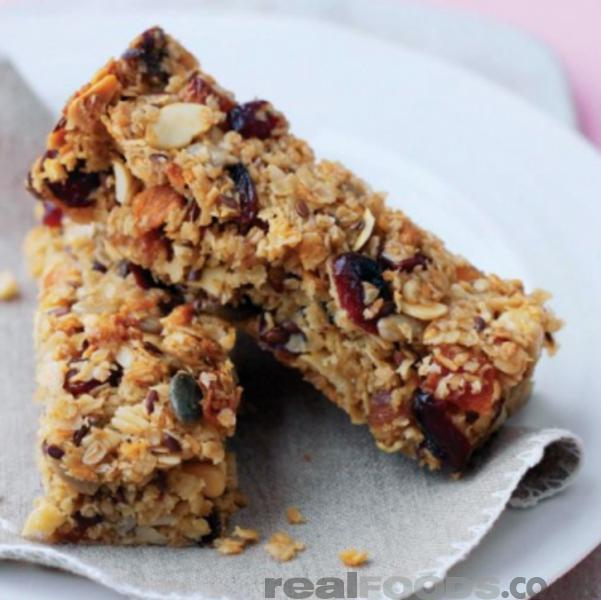 try making these bars for your breakfast