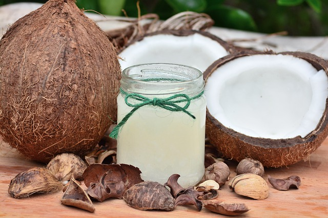 coconut oil is great for oil pulling