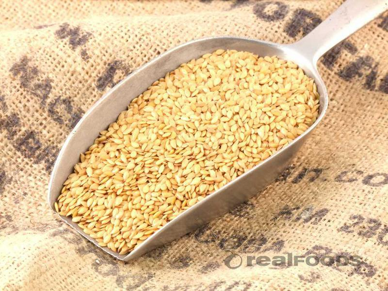 buy organic golden flaxseed instore and online at Real Foods