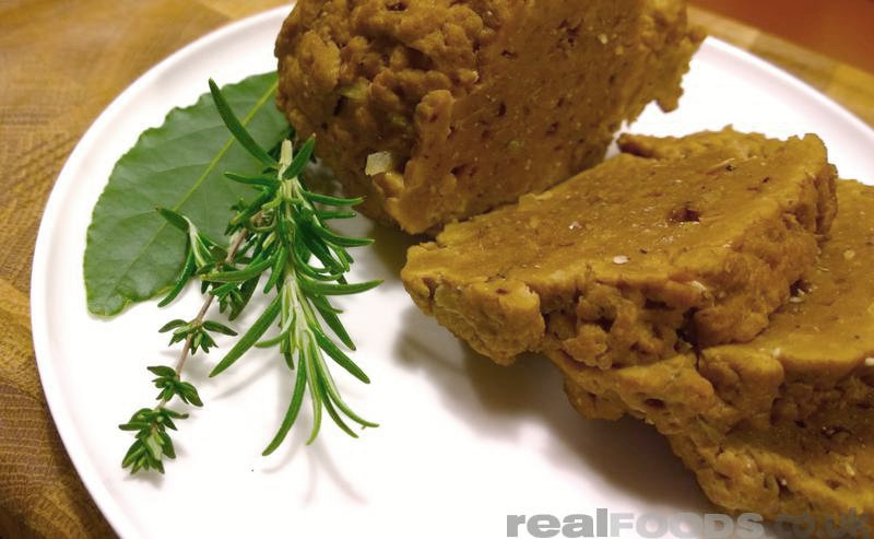 seitan vegan meat alternative