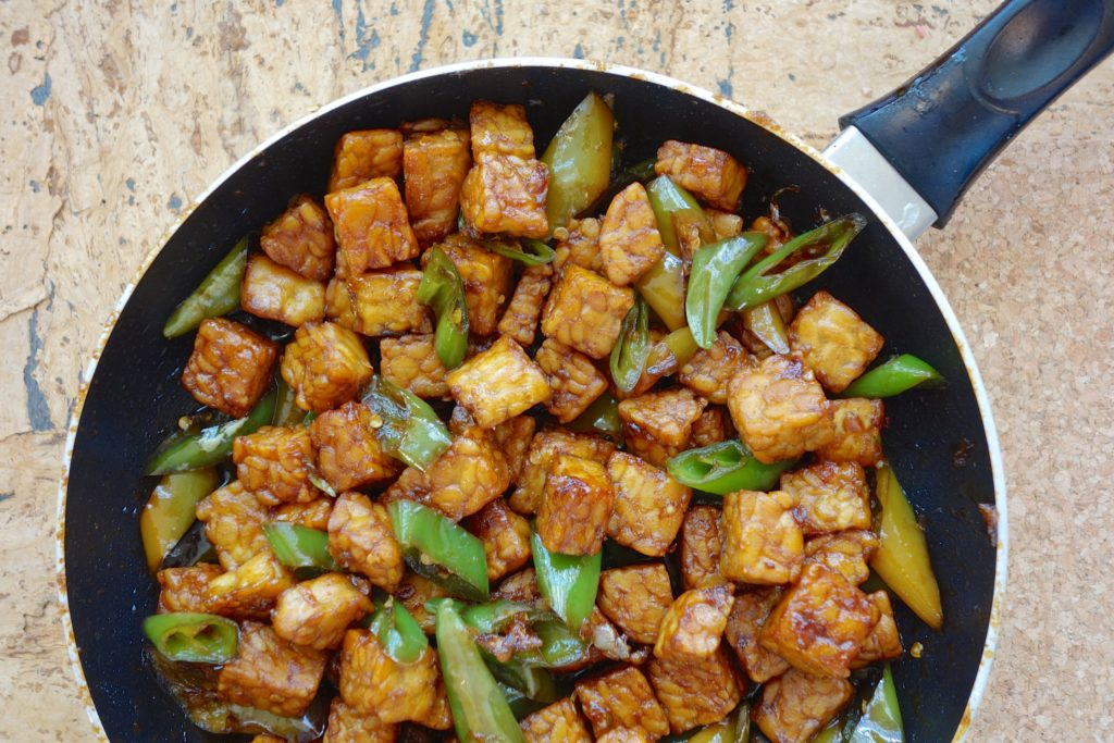 tempeh vegan meat alternative