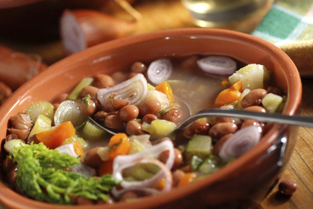 Beans pulses stew broth casserole