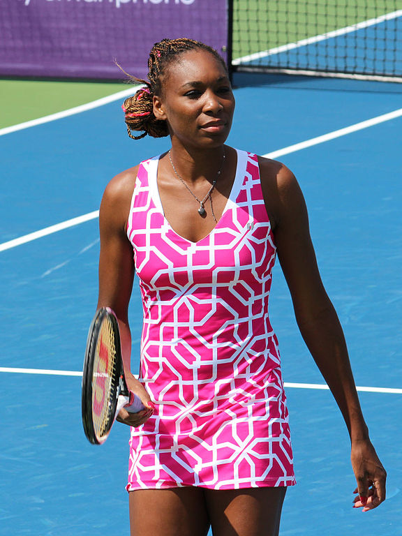 plant based athletes Venus Williams
